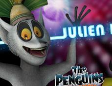 Pinguinii din Madagascar Julien Danseaza