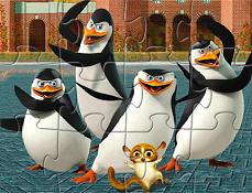 Pinguinii din Madagascar Puzzle