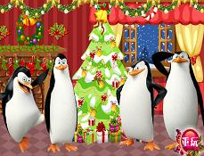 Pinguinii din Madagascar de Craciun