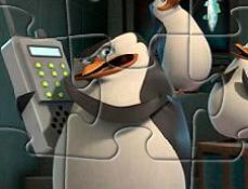 Pinguinii din Madagascar in Misiune Puzzle