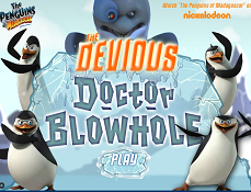 Pinguinii din Madagascar si Doctorul Blowhole