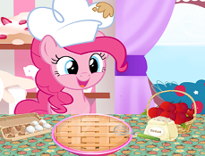 Pinkie Pie Gateste Placinta cu Mere