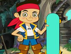 Piratul Jake cu Skateboard-ul