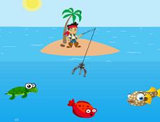 Piratul Jake la Pescuit