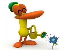 Pocoyo Tetris cu Flori