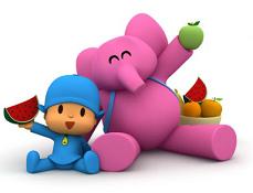 Pocoyo si Jocul cu Fructe