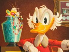 Povestirile Ratoiului - Diferente cu Scrooge McDuck