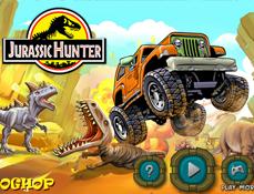 Pradatorul Jurassic cu Jeepul