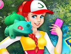 Printesa Antrenoare Pokemon