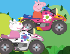 Purcelusa Peppa Curse de ATV