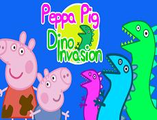 Purcelusa Peppa si Invazia Dinozaurilor