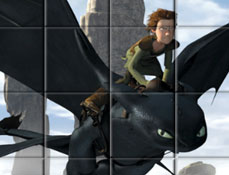 Puzzle Rotativ cu Calaretii Dragonilor