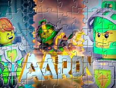 Puzzle cu Aaron Cavalerii Nexo