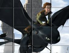 Puzzle cu Calaretii Dragonilor