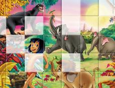 Puzzle cu Cartea Junglei 2