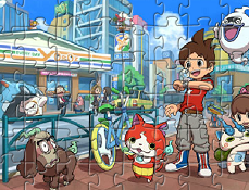 Puzzle cu Ceasul Yo-Kai