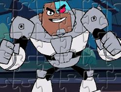 Puzzle cu Cyborg