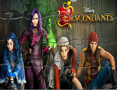 Puzzle cu Descendentii