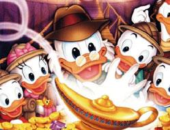 Puzzle cu DuckTales