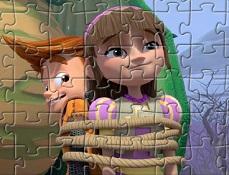 Puzzle cu Eu si Cavalerul Meu