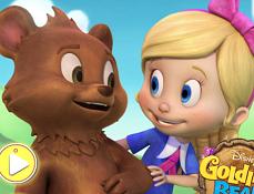 Puzzle cu Goldie si Ursulet