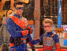 Puzzle cu Henry Pericol si Capitanul
