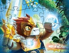 Puzzle cu Lego Legendele din Chima