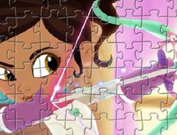 Puzzle cu Nela Printesa Cavaler