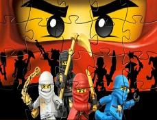 Puzzle cu Ninjago