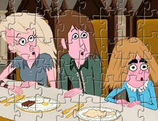 Puzzle cu Peter Rosalind si Alex