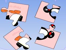 Puzzle cu Pingu