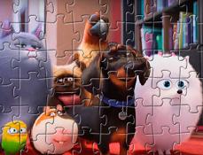 Puzzle cu Viata Secreta a Animalelor de Companie