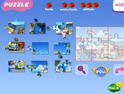 Puzzle-uri cu Robomobilul Poli