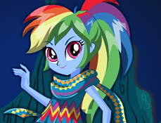 Rainbow Dash Legenda Everfree