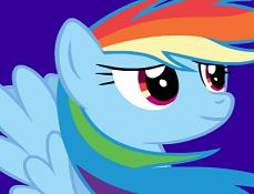 Rainbow Dash Strange Cristalele
