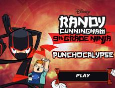 Randy Cunningham Baiatul Ninja in Punmnocalipsa