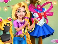 Rapunzel Haine Cosplay