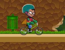 Robin cu Bmx-ul