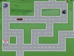 Robomobilul Poli in Labirint