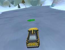 Sarituri cu Masina Iarna 3D