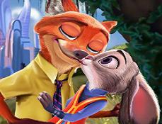 Saruturi cu Nick si Judy