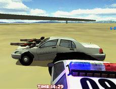 Scapa de Politie cu Masina 3D