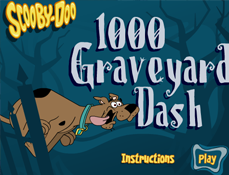 Scooby Doo Fuge de Fantoma din Cimitir