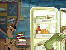 Scooby Doo Prinde Mancarea