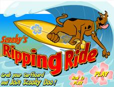 Scooby Doo Surfing