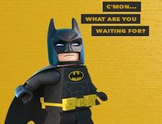 Selfie cu Lego Batman