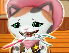 Seriful Callie la Dentist