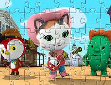 Seriful Callie si Prietenii Puzzle