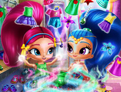 Shimmer si Shine Curatenie in Garderoba