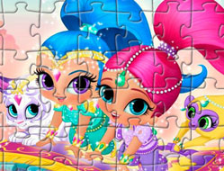 Shimmer si Shine Puzzle 2